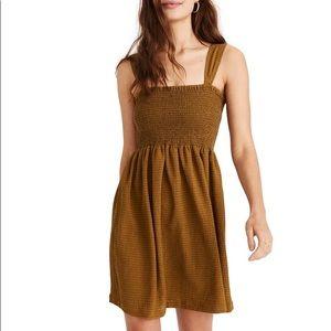 MADEWELL- Texture & Thread Smocked Dress